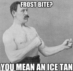 frost bite meme
